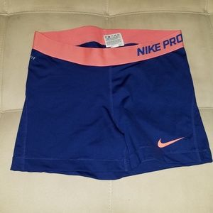 Nike Pro Dri-Fit Workout Spandex Booty Shorts